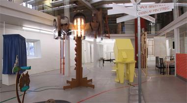 Installation til Kunsthallen Brænderigården