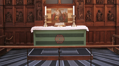 Altergulvtæpper til Herlufsholm Kirke