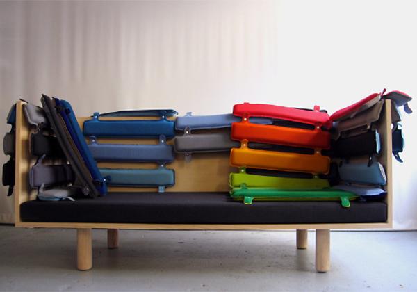 Peter Johansen: Sofa & stol