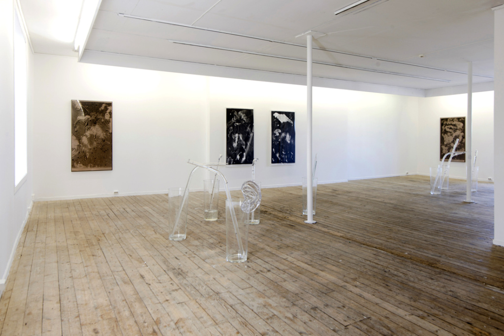 Udstilling af Sandras værker på Rogaland Contempoary Art Center.