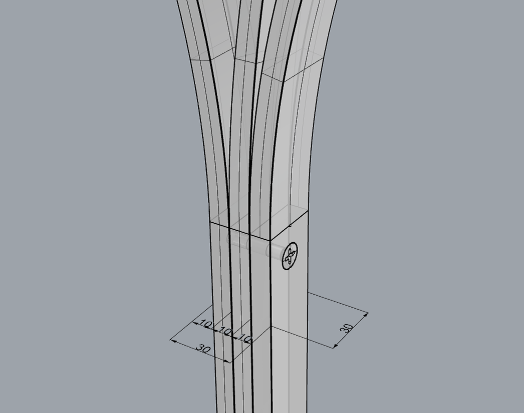 bordbenenes-konstruktion