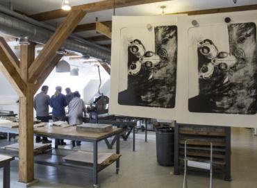 Kursus grafik litografi stentryk Statens Værksteder for Kunst