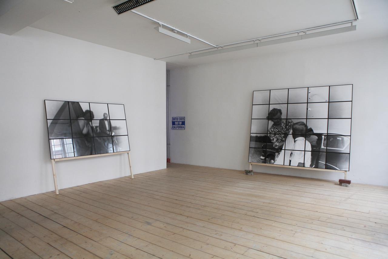 Installatin view, Westwerk Hamborg