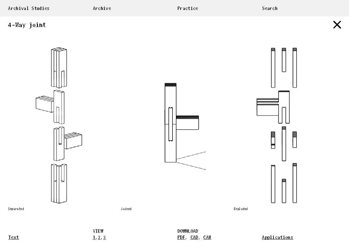 Archival Studies Sketch for open-source database