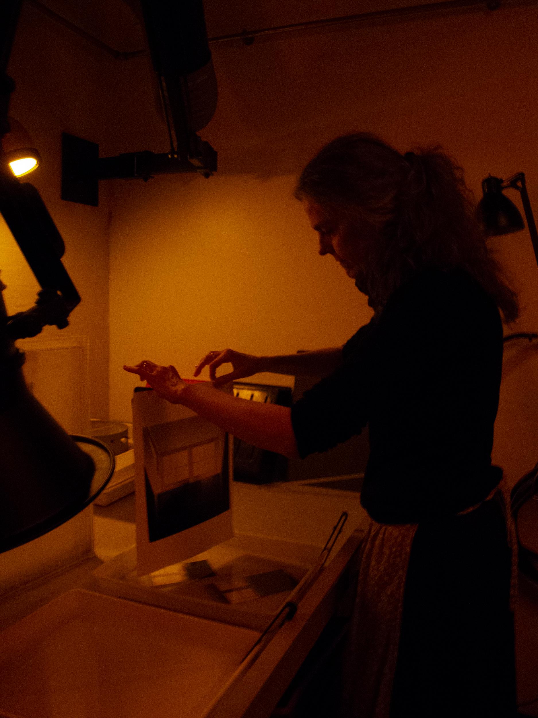 Michala Norup i mørkekammeret
