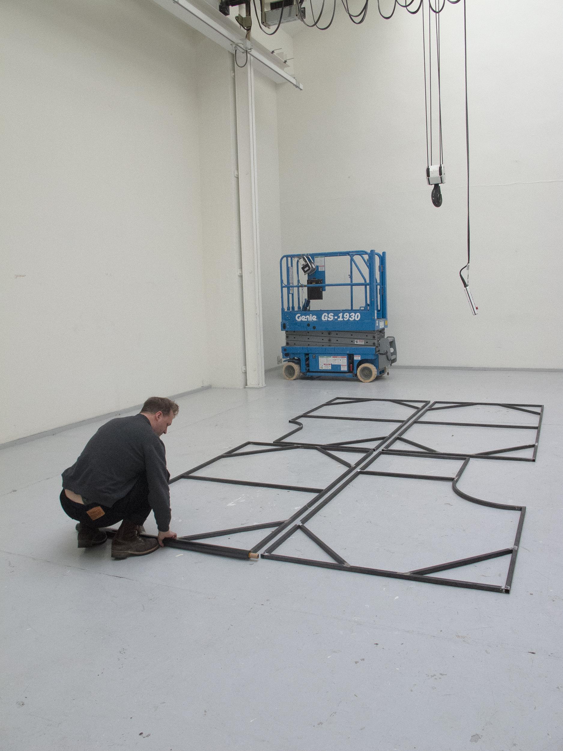 Heine Thourhauge Mathiasens stålrammer i Turboladen
