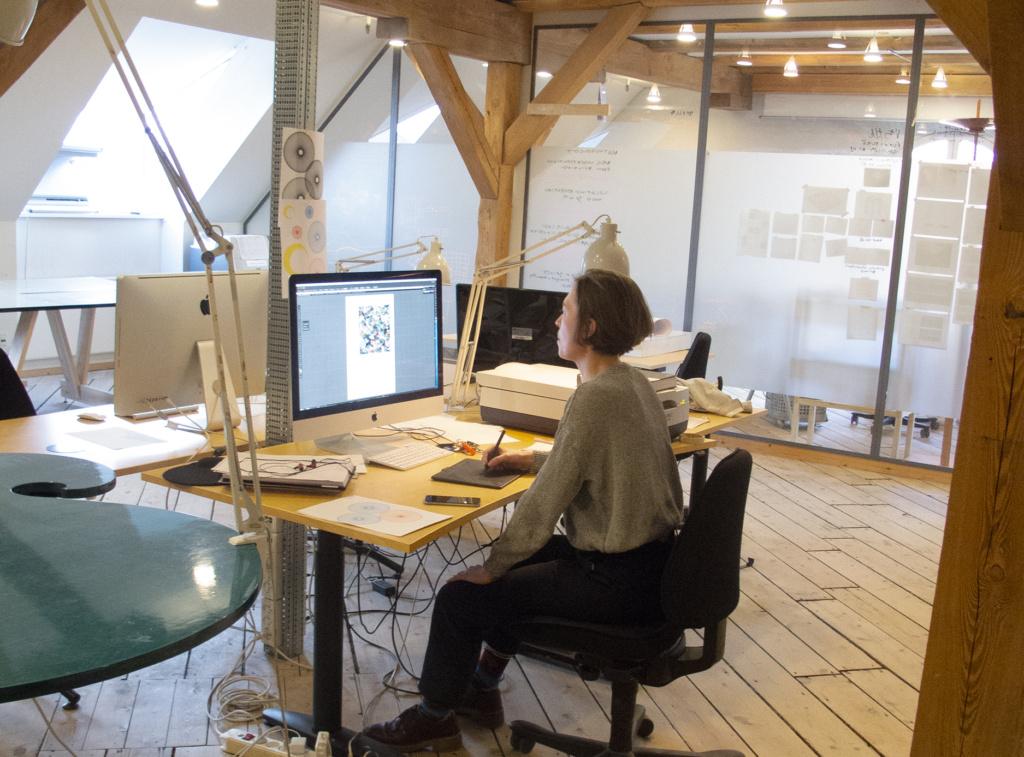 Julie Riis Andersen i IT-værkstedet