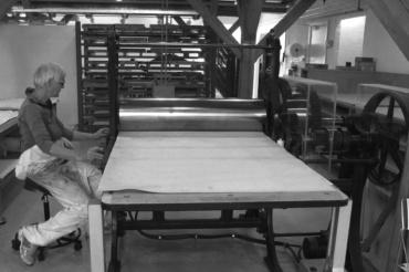 Kursus fotogravure Statens Værksteder for Kunst akvatinte