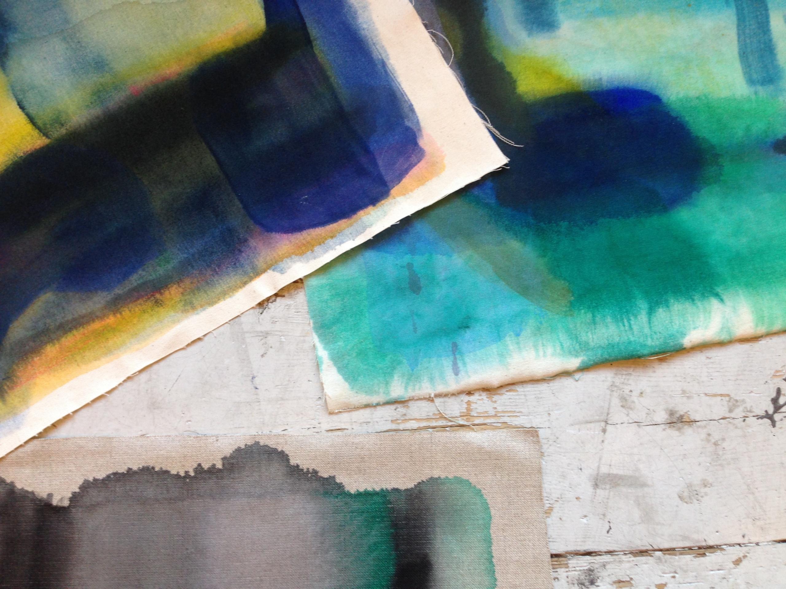 Lærke Lauta: Malerier i storformat