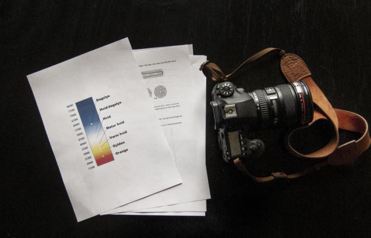 Kursus kamerateknik fotografi Statens Værksteder for Kunst