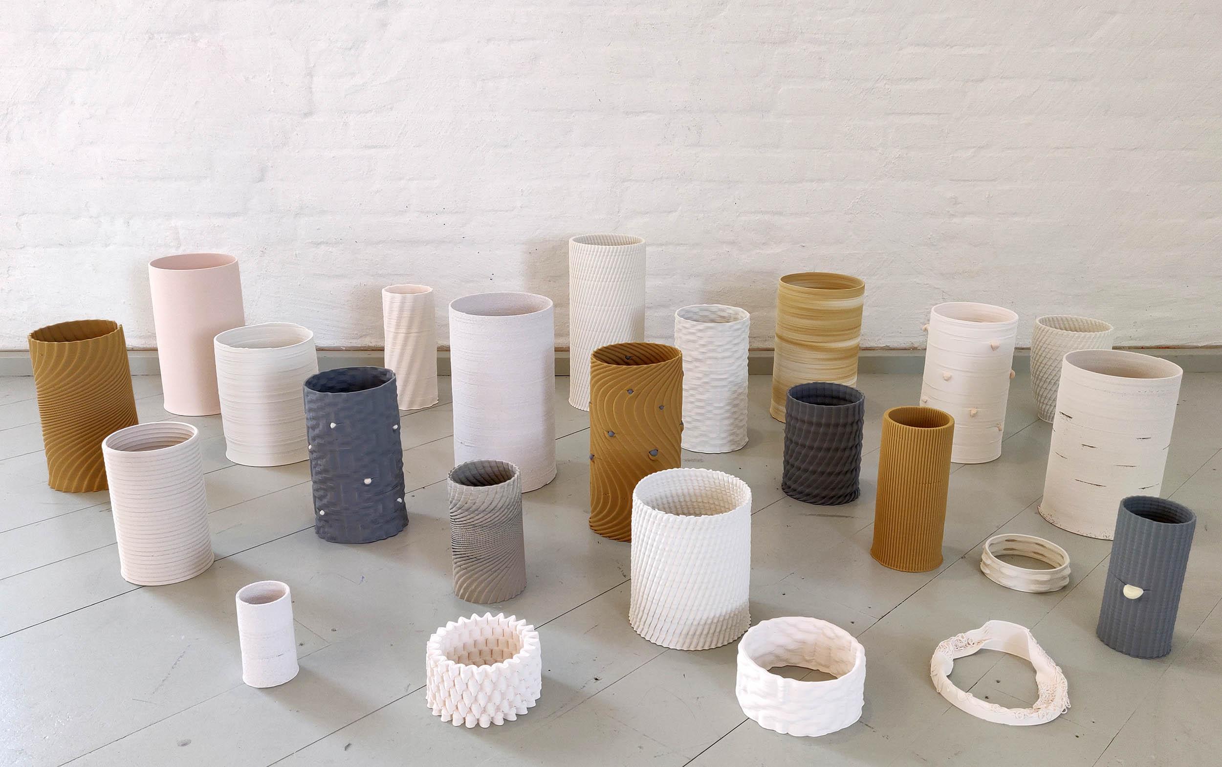 Hilda Nilsson: Digital Coiling – Material Modelling Machine